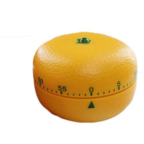 One Hour Orange Kitchen Timer Mechanical Timer Winding Fruit Timer