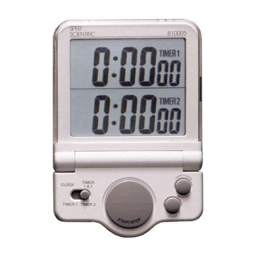 Sper Scientific 810005 Large Display Timer White