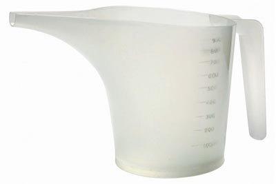 Norpro 3040 Funnel Measuring Pitcher Plastic 35-Cups - Quantity 6