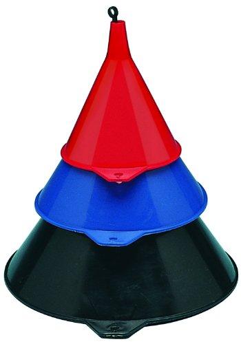 Plews 75-075 3-Piece Funnel Set