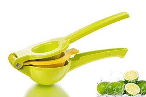 Haturi LimeLemon Squeezer - Quality Metal Citrus Juicer Manual Orange PressHand Presser for Mini Citrus Fruits Home Organic Juice Extractor Natural Fresh Juice - Easy Fast Healthy Vegan Drinks