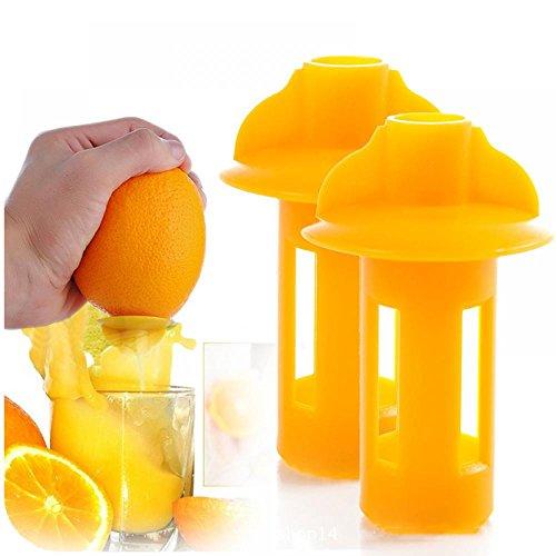 MAXGOODS Manual Hand Citrus Squeezer Lemon Juicer Faucet Juice Extractor Press3-Pack