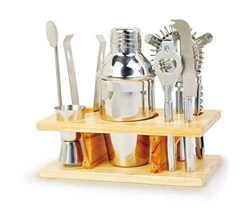 Chefs Basics Home Bar Set Cocktail Tool Kit