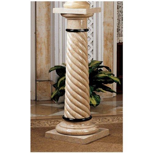 39 Bottochino Natural Stone Marble Column Pedestal Stand