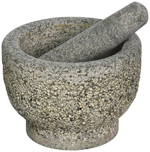 Creative Home Granite Mortar Pestle Set Gray