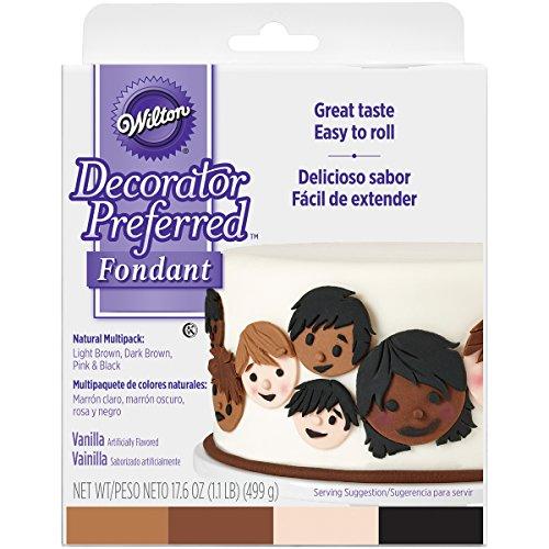 Wilton 710-2314 Decorator Preferred Natural Skin Tone Fondant