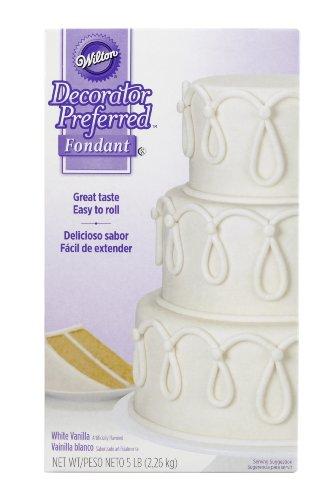 Wilton Decorator Preferred Fondant 5-Pound White 710-2300