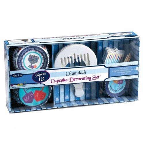Chanukah Cupcake Decorating Set
