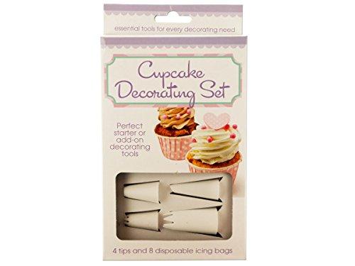 bulk buys HW717-12 Cupcake Decorating Set