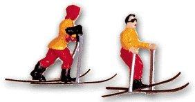 Cup Cake Decorating Pick Cupcake Decorator 8 piece Skiers Set Skiers