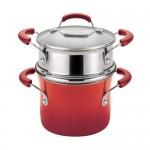 Rachael-Ray-Porcelain-Enamel-Ii-Nonstick-Covered-Steamer-Set-3-quart-Red-Gradient12.jpg