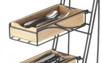 Cal-Mil-1235-60-Black-Frame-Bamboo-Flatware-Condiment-Display-38.jpg