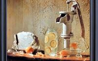 Lemonade-Pump-With-Pitcher-Still-Life-Wall-Decor-Black-Framed-Pictures-Art-Print-19x23-22.jpg
