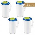 Set-of-4-TrueCraftware-Beverage-Pitcher-2-Quart-Green-and-Blue-Accent-Lid-6.jpg