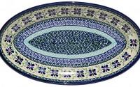 Polish-Pottery-Large-Oval-Serving-Platter-From-Zaklady-Ceramiczne-Boleslawiec-1104-du121-Unikat-Pattern-Dimensions-14-Inch-X-8-Inch-13.jpg