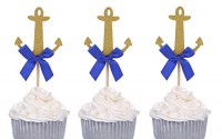 24-PCS-Nautical-Party-Decors-Golden-Anchor-Cupcake-Toppers-with-Blue-Bow-by-Giuffi-10.jpg