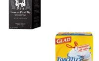 KITCOX70427MLA75415-Value-Kit-Melitta-Coffee-Pods-MLA75415-and-Glad-ForceFlex-Tall-Kitchen-Drawstring-Bags-COX70427-31.jpg