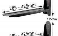 Spares2go-Universal-Black-Adjustable-Extendable-Microwave-Holder-Brackets-28.jpg